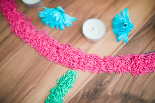 Simple Diwali Decoration with Colorful Rice