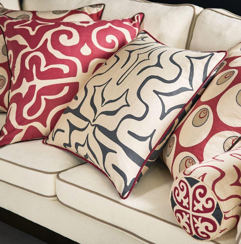 Kawa Kaleidoscope cushions from OKA