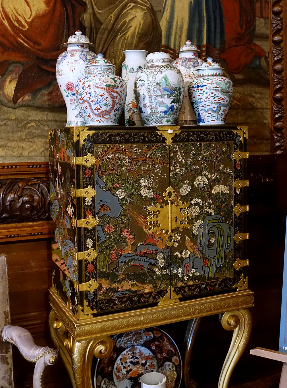 Chinoiserie at Chatsworth House