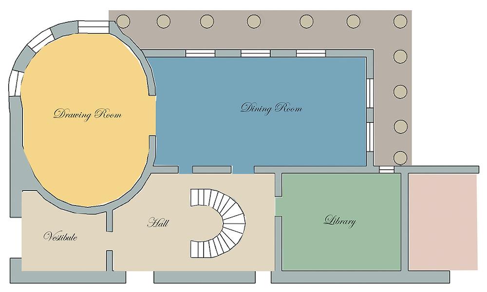 Regency House Floorplan