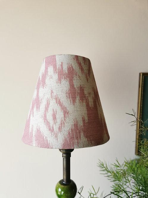 Pink Ikat Candle Clip Lampshade