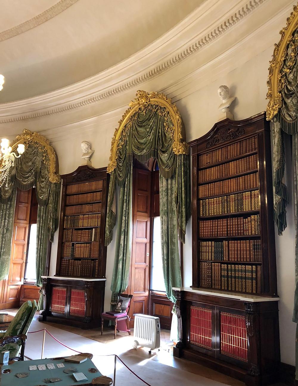 Regency library at Ickworth