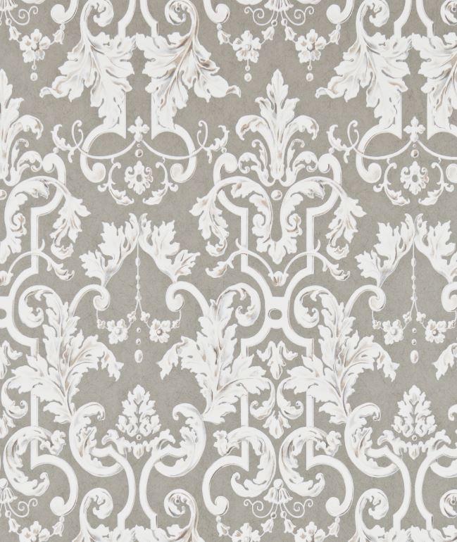 Marmorino Rococo style Wallpaper ZOFFANY