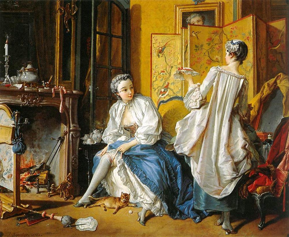 The Toilette by François Boucher 1742