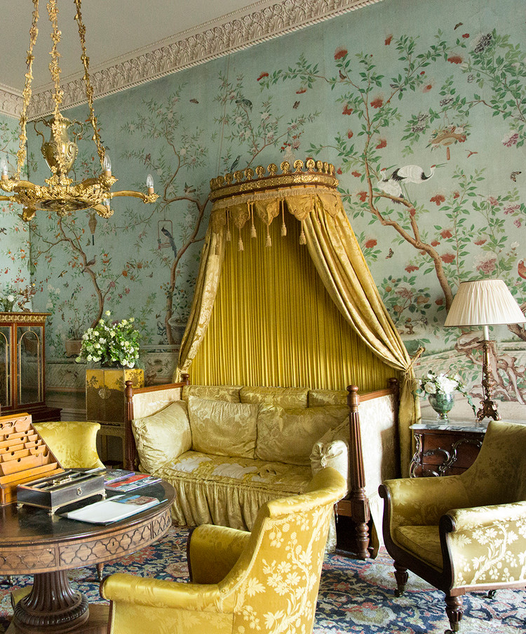 Chinoiserie at Belvoir Castle