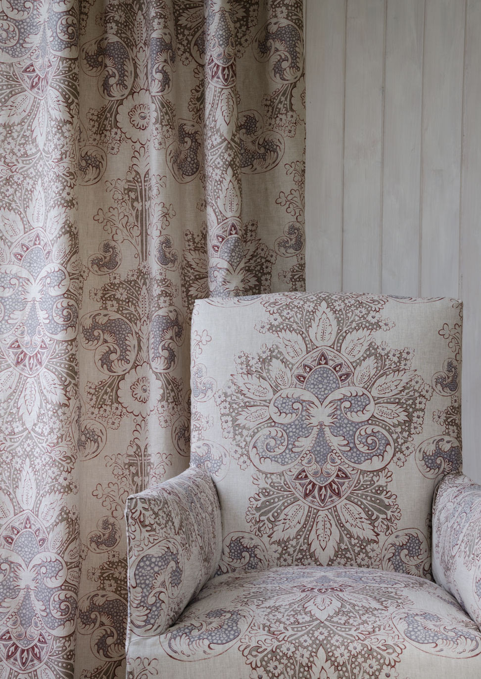 Rococo Linen by Lewis & Wood