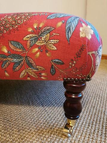Large Upholstered Ottoman Designer Archi