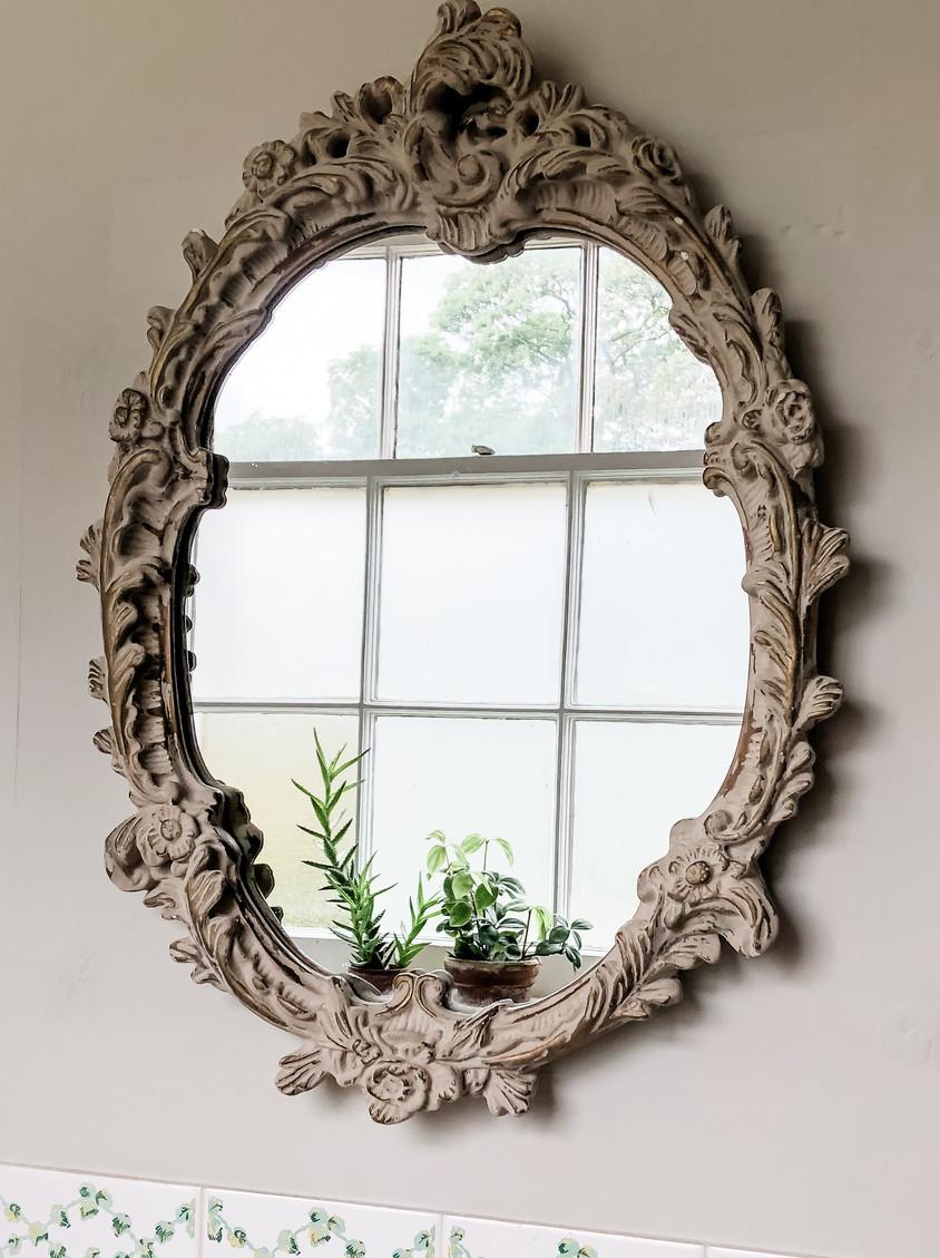 Bathroom Vintage Mirror