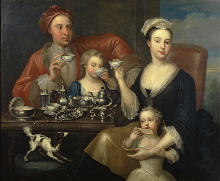 The Tea Party by Richard Collins 1727