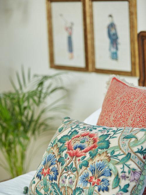 Large Upholstered Ottoman