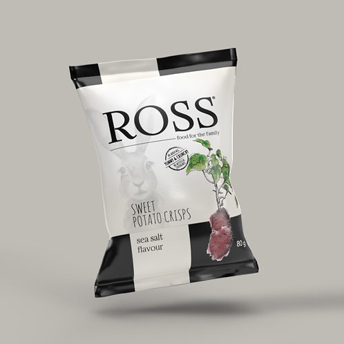 Sea Salt flavoured sweet potato crisps