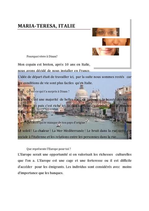 Maria-Teresa de l'Italie