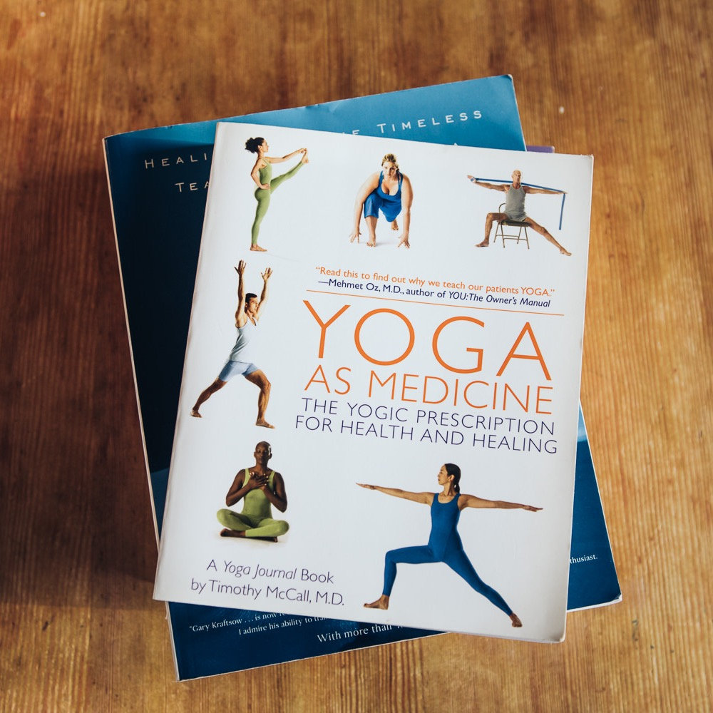 Yoga therapy – initial consultation