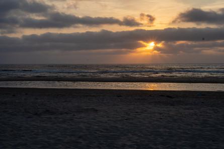 zee zondsondergang