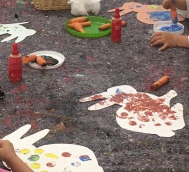 Structuring an English playgroup session