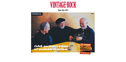 Vintage Rock Mag (June/July 2021) - The Crickets And Their Buddies Available to Stream for the First Time