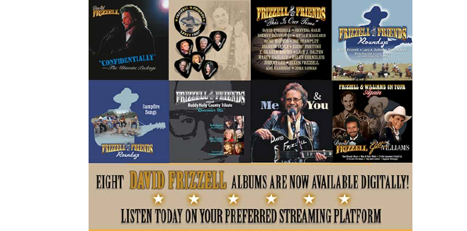 Time Life Digitally Reissues Eight Albums By David Frizzell On January 15