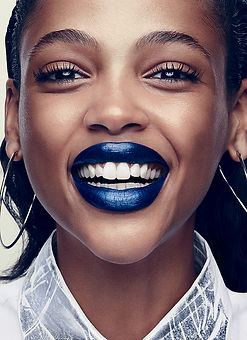 "Aya Jones for Allure. ""Best of Beauty"". Photographer: Sølve Sundsbø."