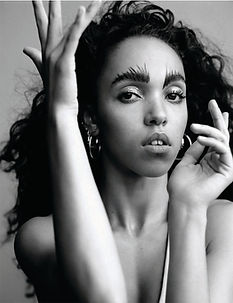 "FKA Twigs for Allure. ""Portrait Of An Artist"" Photographer: Alasdair McLellan."