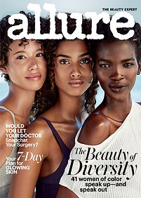 Dilone, Imaan Hammam and Aamito Lagum for Allure. Photographer: Patrick Demarchelier.