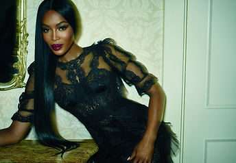 "Naomi Campbell for Allure. ""Pat McGrath's Muses"". Photographer: Emma Summerton."
