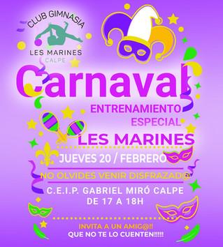 Llega el Carnaval al Club Gimnasia Les Marines!!!