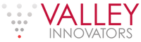 Red and grey Valley Innovators Logo