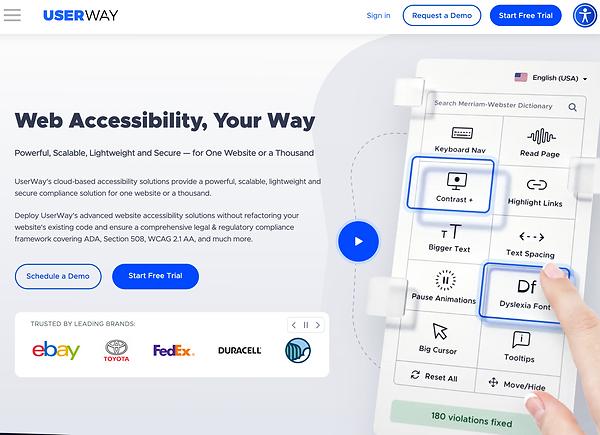 Web Accessibility ADA Compliance