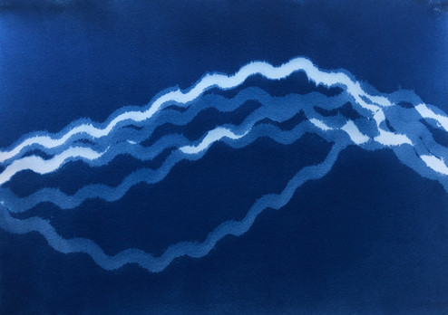 Into The Blue (Triptych III of III)