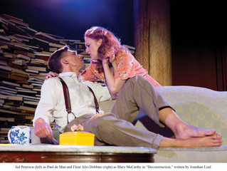 """The Reviews Keep Coming In: """"The Stream"""" calls """"DECONSTRUCTION"""" a POWERFUL new play"""