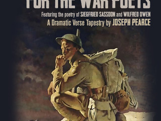 DEATH COMES FOR THE WAR POETS TO RECEIVE WORLD PREMIERE PRODUCTION AT THE SHEEN CENTER