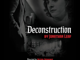 "STORM THEATRE KICKS OFF 20th SEASON WITH WORLD PREMIERE OF ""DECONSTRUCTION"""
