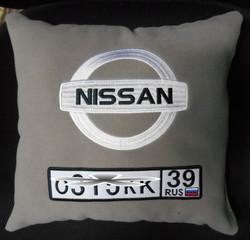 авто - подушка вышивка Калининград