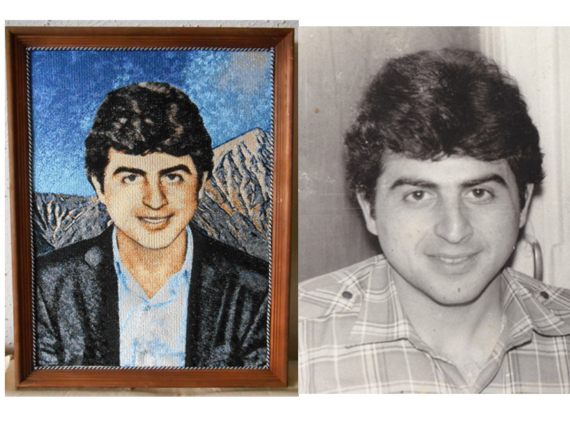 Вышивка портрета по фотографии