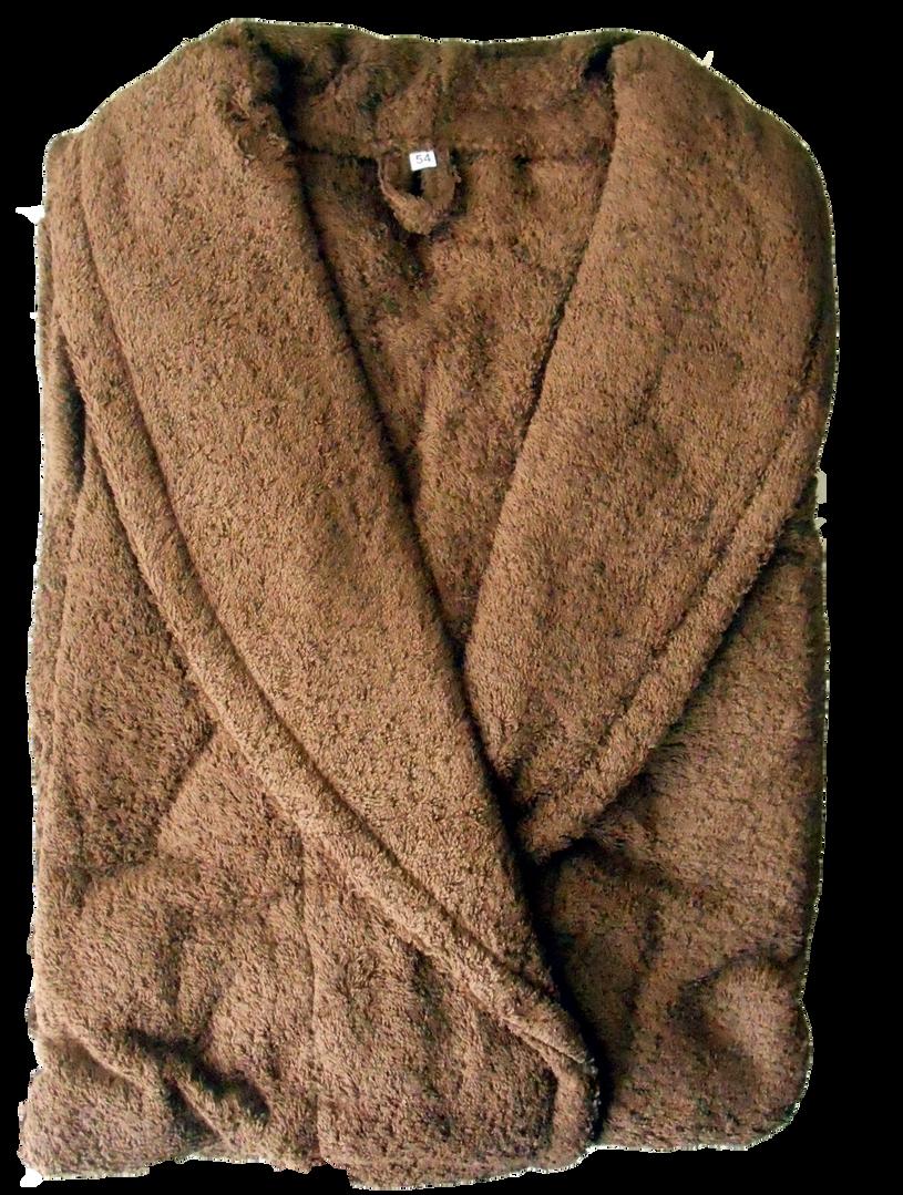 Халат из одно - петельной махры