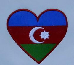 Калининград вышивка флаг Азербайджан