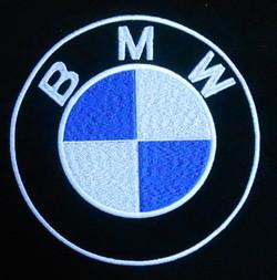Калининград вышивка авто подушка BMW