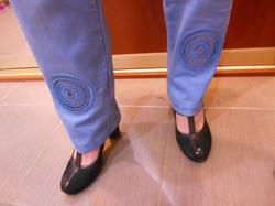 Кружева джинсы