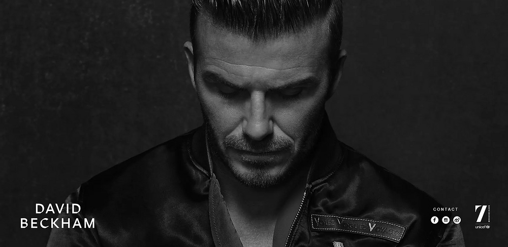 David Beckham Athlete Website Former Footballer