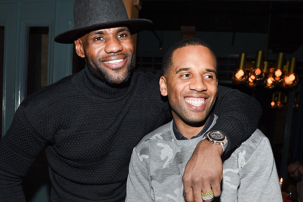 LeBron James, Maverick Carter, LeBron James Brand Manager,