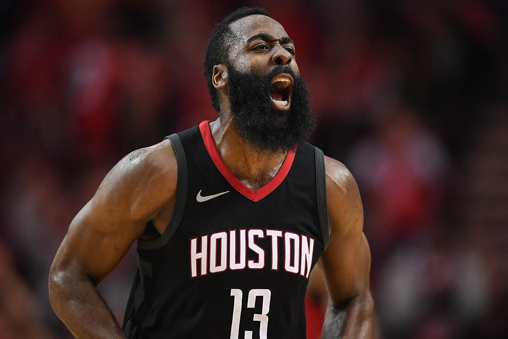James Harden, NBA, Houston Rockets, James Harden Beard, James Harden Athlete Brand
