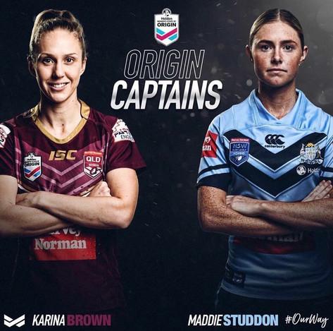 Karina Brown, Agency X, Australian Athlete, NRLW Player, State Of Origin, Maroons Captain, NRL,