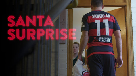 Brendon Santalab, Western Sydney Wanderers, Player Surprises Young Football Fan, A-League Footballer,