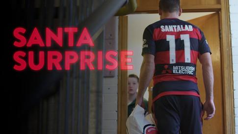 Brendon Santalab, Western Sydney Wanderers, Player Surprises Young Football Fan, A-League Footballer,