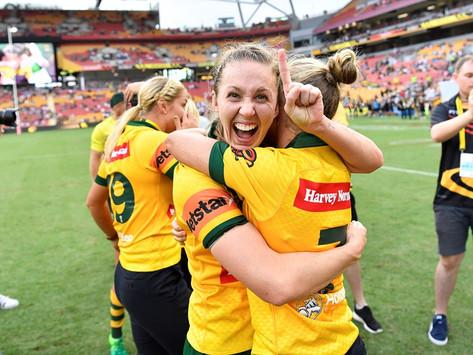 Karina Brown, Agency X, Australian Athlete, NRLW Player, Jillaroos, Australian Jillaroos, World Test,