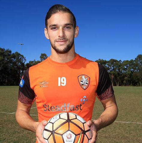 Jack Hingert Brisbane Roar Professional Football Player