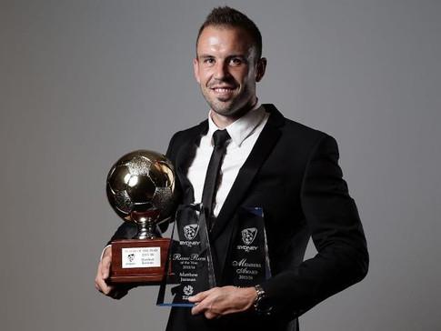 Player of the Year, A-League, Sydney FC, Australian Footballer, Matthew Jurman, Agency X,