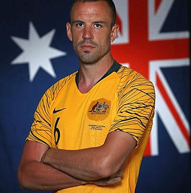 Matthew Jurman Socceroos Football Player