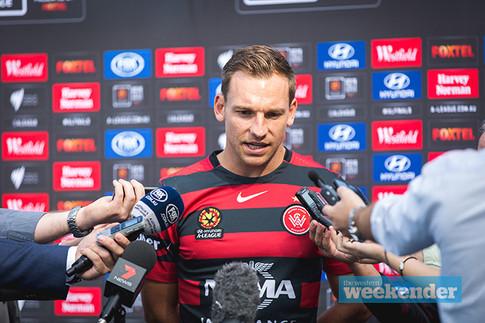 Brendon Santalab,  Professional Football Player, Western Sydney Wanderers, Media, Australian Footballer