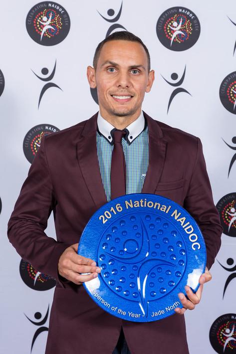 Jade North, Socceroo, Olympian, NAIDOC Sportsman of the Year, Agency X,